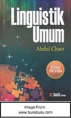 Resensi Buku Linguistik Umum Abdul Chaer Ardian Enggar S Blog